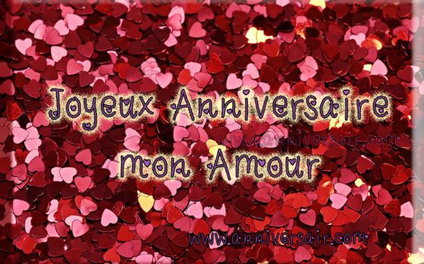 Joyeux Anniversaire Mon Amour Avec Une Rose Joyeux Anniversaire