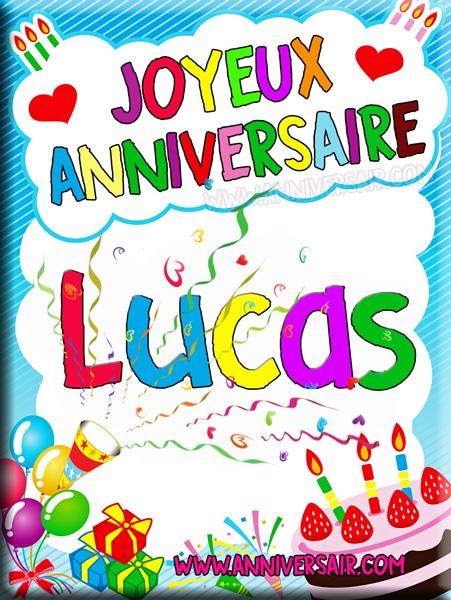 joyeux anniversaire image Carte virtuelle Joyeux anniversaire Luca