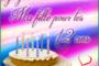 Joyeux anniversaire ma fille 13 ans