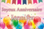 Joyeux anniversaire Jenny