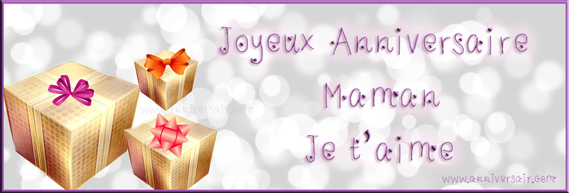 Souhaiter Un Joyeux Anniversaire à Sa Maman Joyeux