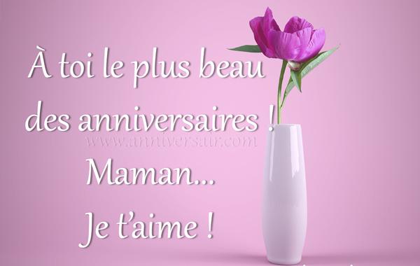 Joyeux Anniversaire Belle Maman Texte Touchant Joyeux Anniversaire