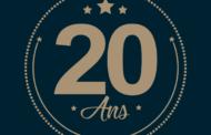 Texte anniversaire 20 ans