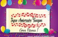 Joyeux anniversaire Faouzane
