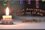 Joyeux anniversaire mon fils 18 ans