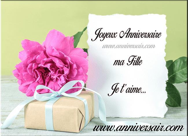 Textes Danniversaire Dune Mère à Sa Fille Joyeux