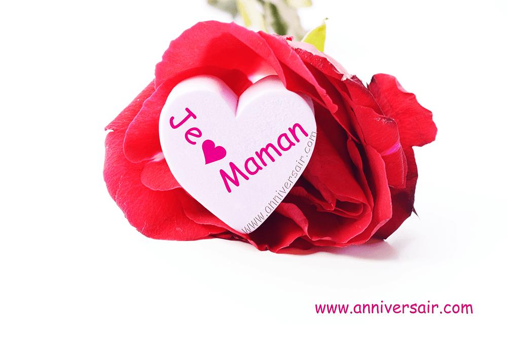 message maman je t'aime bonne fête d'anniversaire - Joyeux anniversaire pour Maman