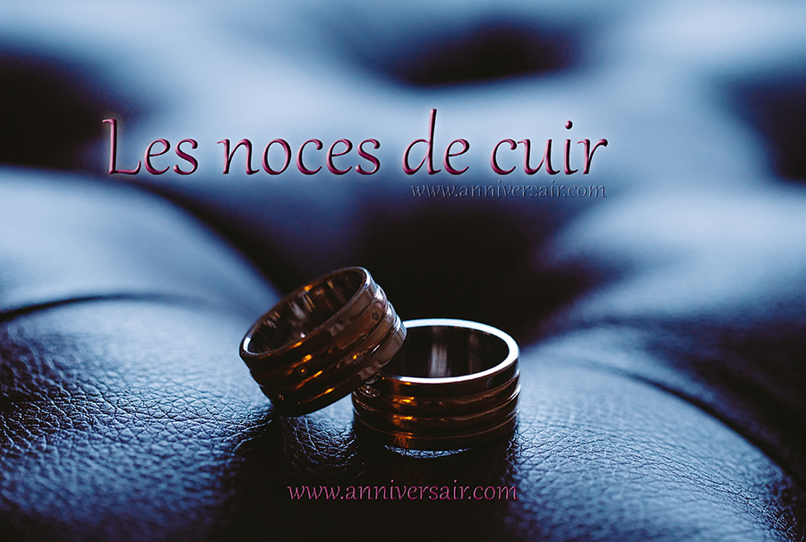 2 ans de mariage: Les noces de cuir