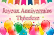 Joyeux anniversaire Théodore