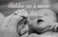 80 Messages félicitations naissance fille garçon bébé