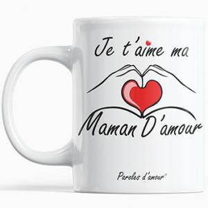 Mug cadeau fête des mères