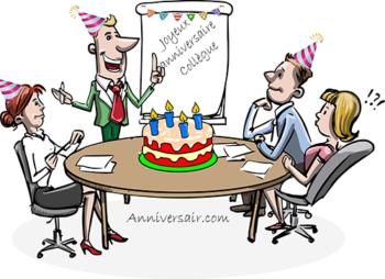 Anniversaire collègue, joyeux anniversaire chere collegue